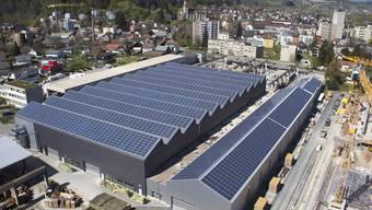 Xaver Meyer AG in Villmergen: eines der 100 ADEV-Kraftwerke.  zvg
