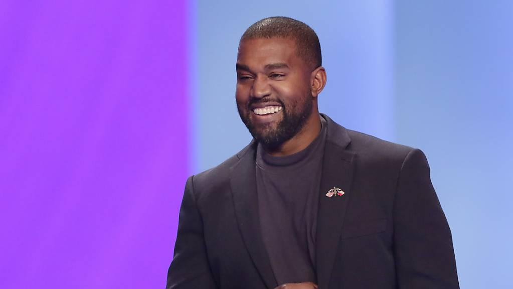 """""""Der einzige Superstar ist Jesus"""": US-Rapper Kanye West (42) bei einem Auftritt in einer Kirche in Texas."""