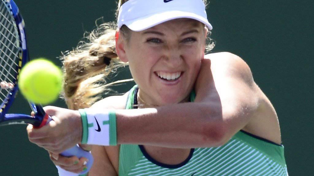 Viktoria Asarenka überraschte Favoritin Serena Williams