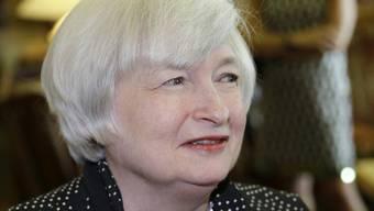 Fed-Chefin Janet Yellen (Archiv)