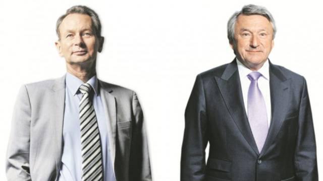 Meinte FDP-Parteipräsident Philipp Müller (links) mit seinem A-Wort Ernst Tanner, den Chef von Lindt & Sprüngli (rechts)?