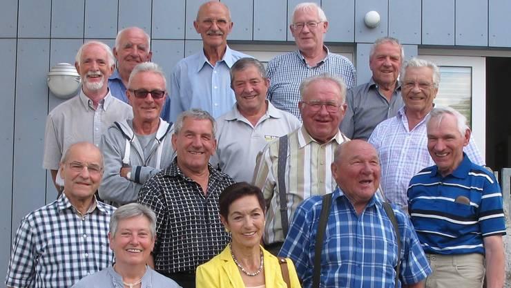 Genau vor 50 Jahren waren sie die Helfer bei der ersten Veranstaltung des VMC Schupfart mit dem HazyOsterwald-Sextett.