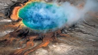 Eine der grössten heissen Quellen im Yellowstone-Nationalpark. (Symbolbild)