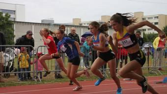 Volle Konzentration: Am kantonalen Sprintfinal 2018 in Windisch zeigten die besten Läuferinnen und Läufer des Kantons ihr Können.
