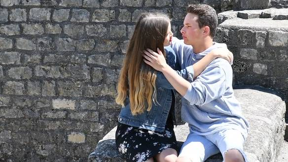 Ein filmreifer Kuss und gepuderte Jungs