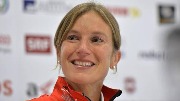 Die 23-fache Weltmeisterin Simone Niggli Luder startet am Wochenende am Weltcup-Final in Baden.
