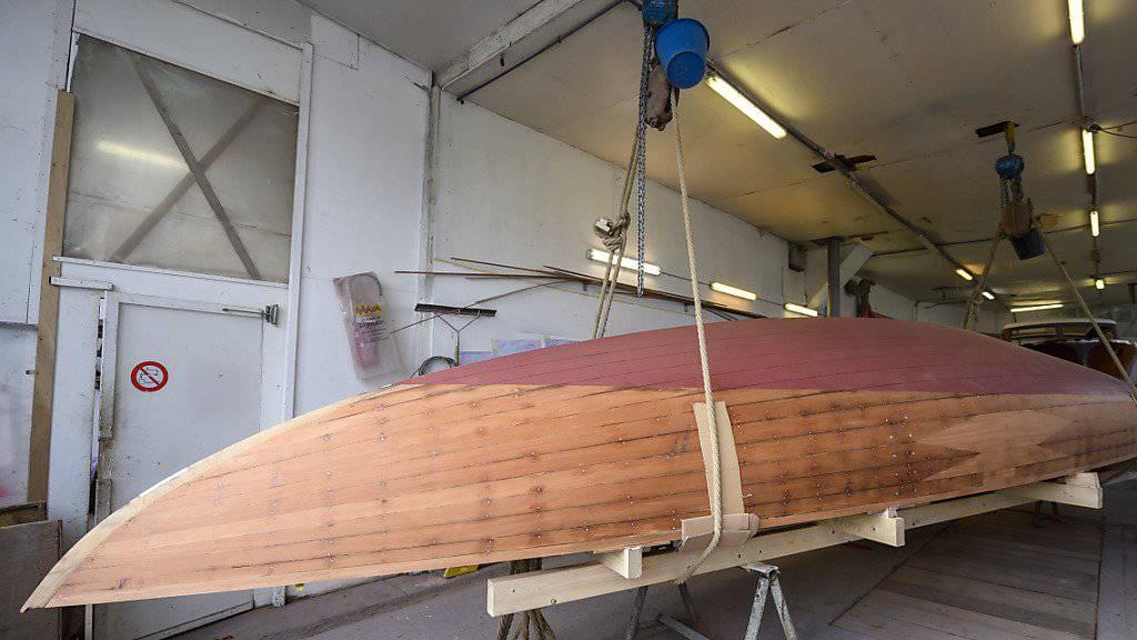 Genfersee-Jacht  wird restauriert