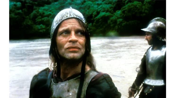 Der Irre mit dem ramponierten Helm: Was hatte Aguirre (hier verkörpert von Klaus Kinski in Werner Herzogs Film) im Regenwald wirklich gesehen? Walter Herzog Film
