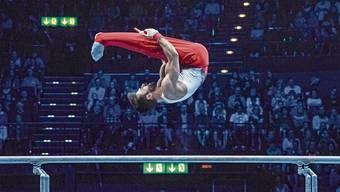 Oliver Hegi geniesst den Wettkampf im Hallenstadion: «Ich bin lockerer, viel weniger angespannt als sonst.»Bild: Andy Müller /Freshfocus