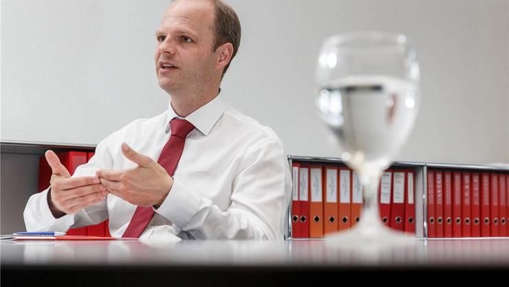 Handelskammer-Chef Daniel Probst will die Sozialregion effizienter und kostengünstiger gestalten.