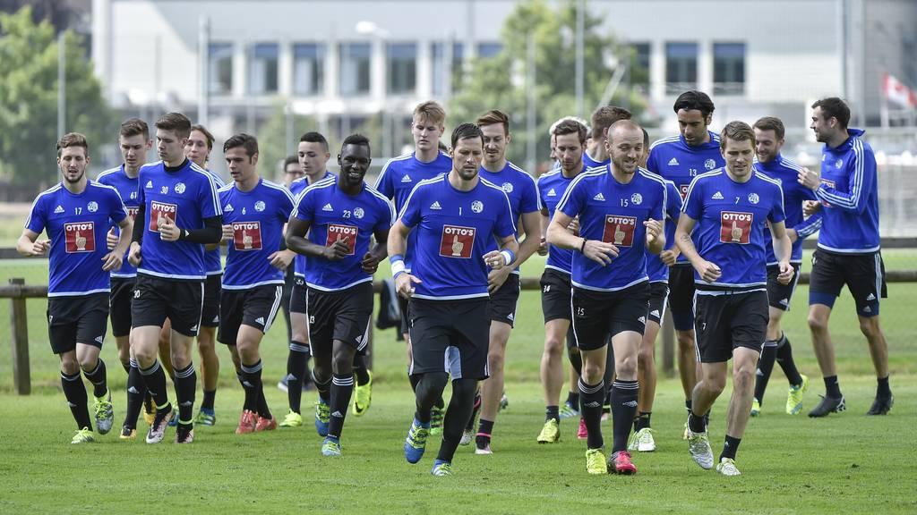 Der FC Luzern startet gegen St. Gallen
