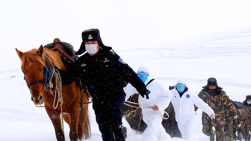 China meldet 118 neue Virus-Tote - weiterer Anstieg bei Infektionen