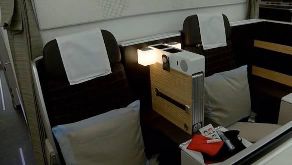 Boeing 777-300ER: Ein Blick ins Innere des neuen Swiss-Flaggschiffs
