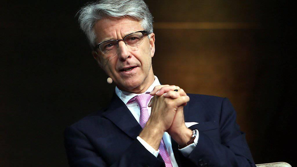 Der oberste Schweizer Bankier, Herbert Scheidt, tritt aus dem Helvetia-Verwaltungsrat zurück. (Archiv)