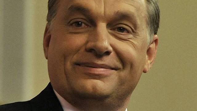 Zum Ministerpräsidenten gewählt: Viktor Orban