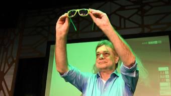 Grüne Brille: Österreichs Grünen-Chef Werner Kogler blickt auf ein Glanzresultat bei den Wahlen.
