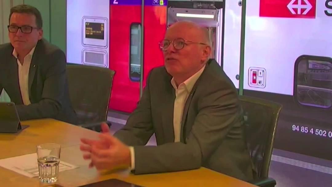 Der neue SBB-Chef Vincent Ducrot hat das Steuer übernommen