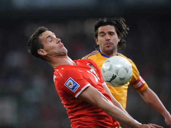 In 19 Länderspielen für Österreich traf Stefan Maierhofer ein Mal.