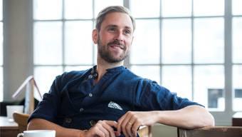 Marco Kunz beim Interview: «Wenn man sich selber nicht herausfordert, wird man irgendeinmal satt und fett.» Dominik Wunderli