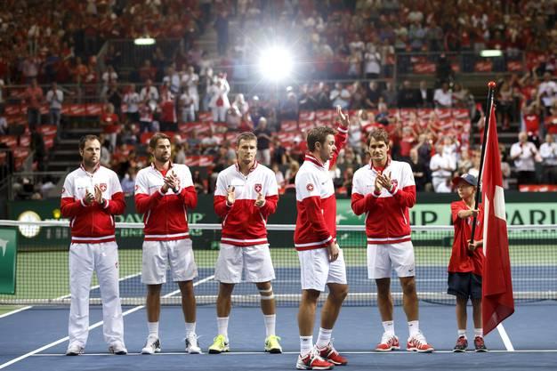 Das Schweizer Team