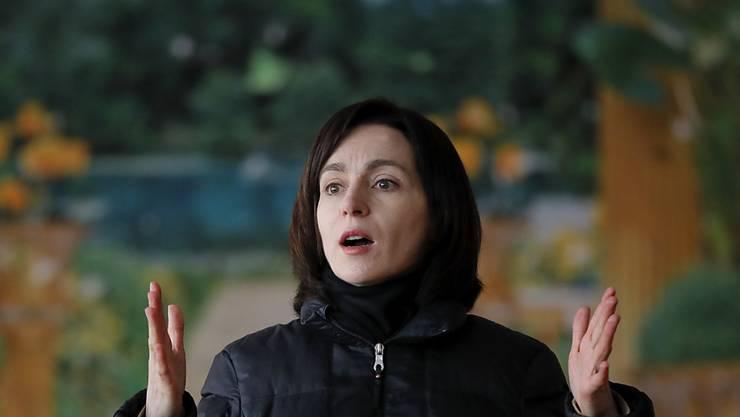 In Moldau ist Maia Sandu vom rechten pro-europäischen Parteienblock ACUM vom Parlament gegen den Willen des Verfassungsgerichts zur neuen Regierungschefin gewählt worden. (Archivbild)