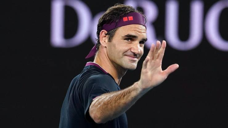 Roger Federer profitiert von der neuen Regelung bei der Berechnung der Weltrangliste. Und das, obschon er verletzt ausfällt.