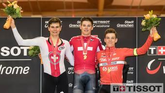 Omnium-Meisterschaften im Velodrome Grenchen 2020