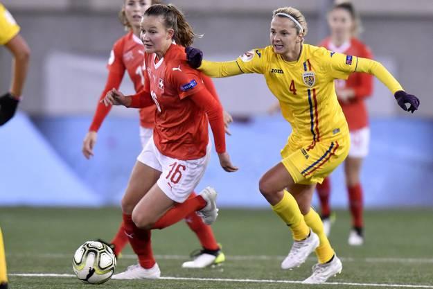 Bereits mit 20 eine prägende Nationalspielerin: Malin Gut ist die jüngste Schweizer Arsenal-Spielerin.