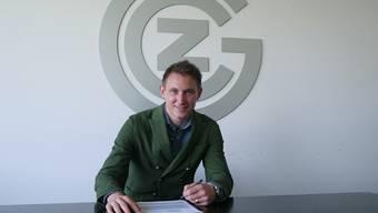 Kim Källström unterschrieb bei GC für die kommenden drei Jahre.