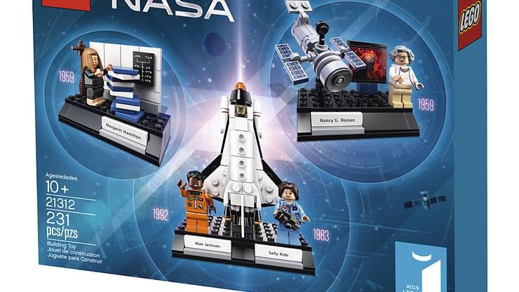 Im Detailhandel ziehen dieses Jahr die Spiele. Im Bild das neue NASA-Set von LEGO mit der ersten weiblichen und der ersten schwarzen Astronautin.