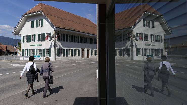 Im Gemeindehaus Deitingen wurde das Budget kräftig bearbeitet und positiv gestaltet.