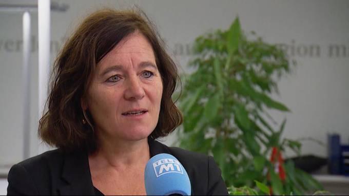 Franziska Roth, Präsidentin SP SO, zeigt sich im Interview höchst erfreut über das Ja zum neuen Polizeigesetz in Solothurn.