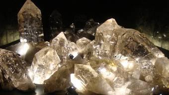 die riesige Kristallformation