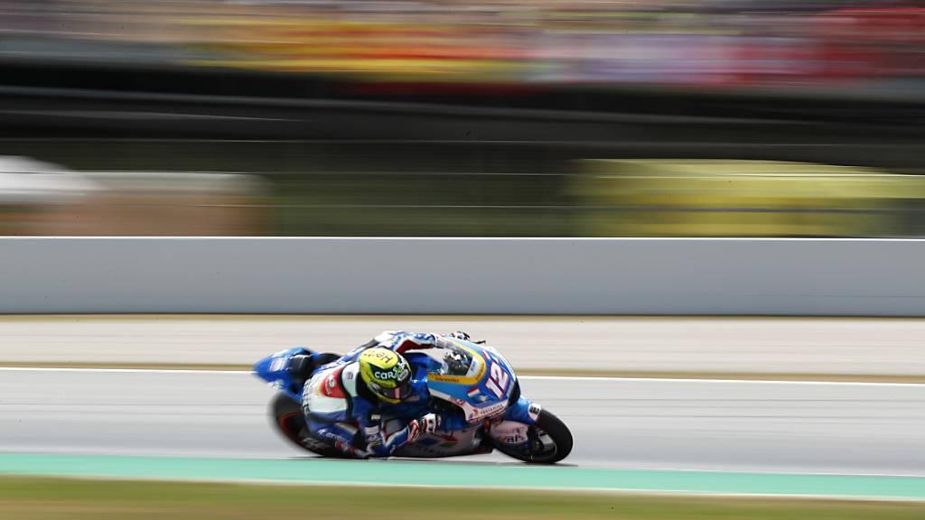 Tom Lüthi hatte mit dem Ausgang des Moto2-Rennens auf dem Sachsenring nichts zu tun: Der 34-jährige Berner verpasst die Top 15 deutlich