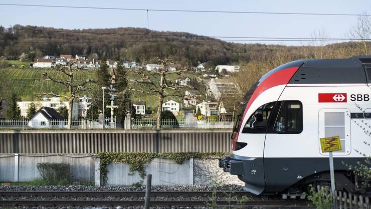 Die S27, hier in Klingnau: Heute früh war sie auf der Strecke Baden-Bad Zurzach/Waldshut verspätet unterwegs.