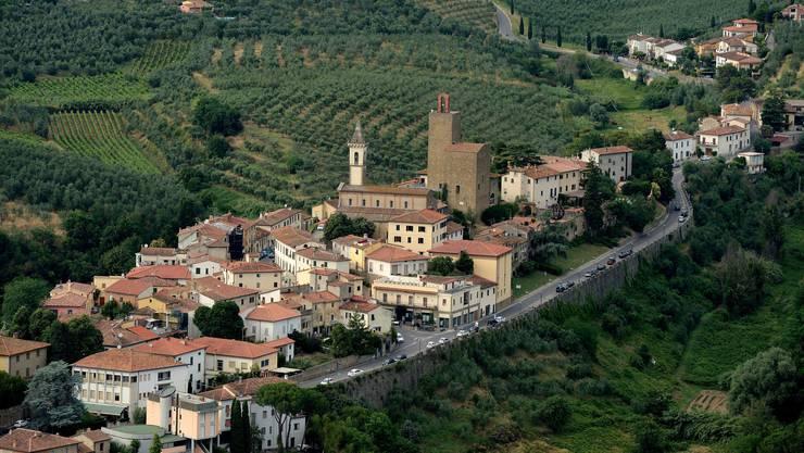Toskanische Idylle: das Städtchen Vinci. Bild: Getty Images
