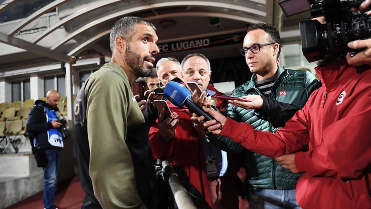 Fabio Celestini muss die schwachen Leistungen seiner Mannschaft erklären.