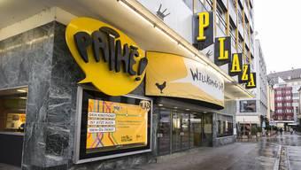 """Anfang Januar muss Pathé die Liegenschaft übergeben. Dann ist das """"Plaza"""" für immer Geschichte."""