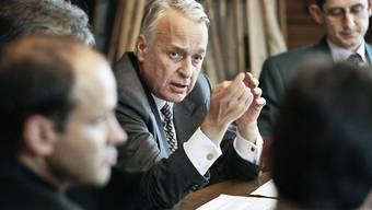 """""""Für mich klingt das erfunden"""": Alt Staatssekretär Franz Blankart über das kolportierte Geheimabkommen mit der PLO. (Archiv)"""