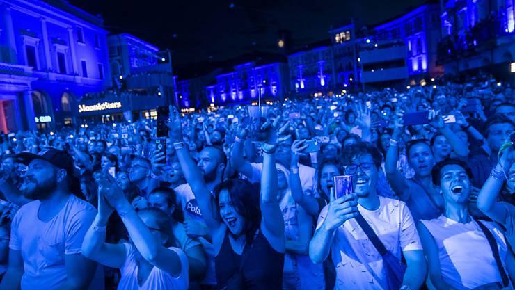 Tausende haben in den vergangenen Tagen das Festival Moon & Stars in Locarno besucht.