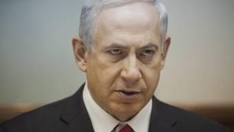 Wird wohl nicht nach Basel kommen: Israels Staatschef Benjamin Netanyahu.
