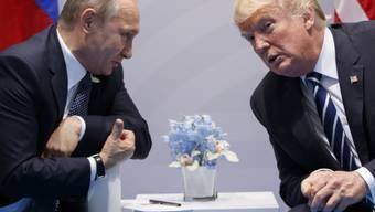 US-Präsident Donald Trump dürfte mit seinem Tweet zu dem Unfall beim Test neuer russischer Waffensysteme den russischen Präsidenten Wladimir Putin verärgert haben - denn der hatte die Waffen früher als nicht auffindbar bezeichnet. (Archivbild)