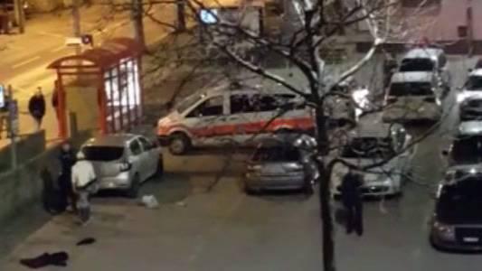 Der Polizist gab einen Warnschuss ab, weil er sich bedroht fühlte.