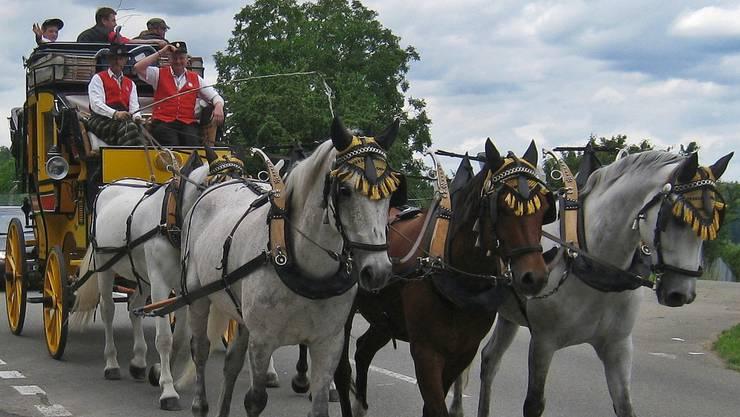 Die Entstehung der PostAuto AG begann 1849 mit dem Aufbau eines Pferdepostnetzes, dessen letzter Vertreter - die legendäre Gotthardpost - noch heute auf der Gotthard Passstrasse verkehrt und zahlreiche Schaulustige erfreut.