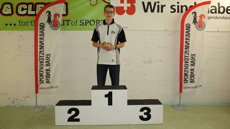 Der Sieger Florian Schnell.