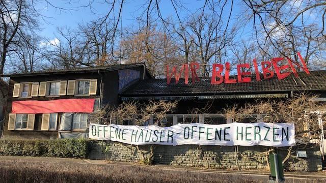 Das besetzte Haus im Eichwäldli in Luzern