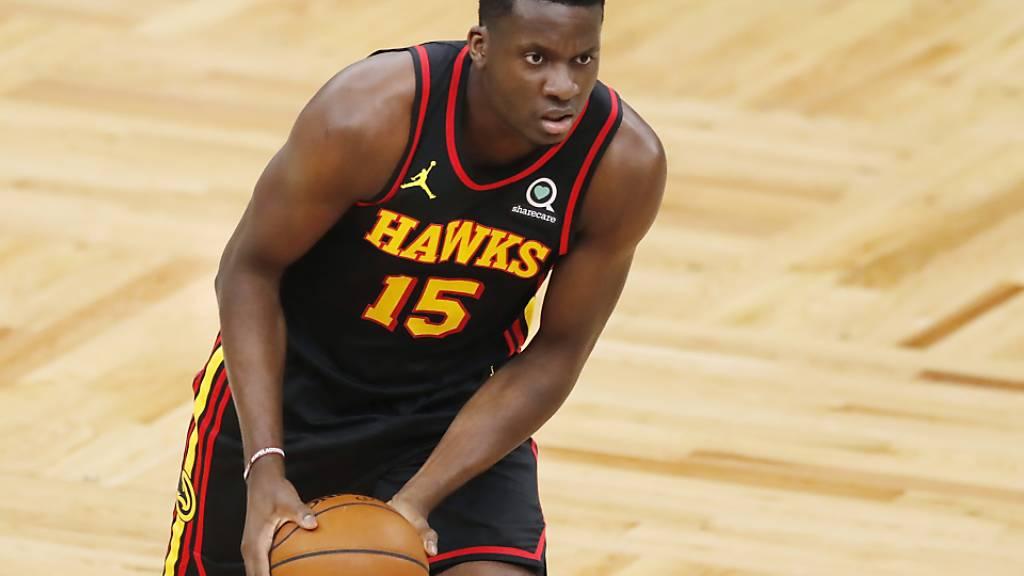 Zeigt sich in guter Form: Der Genfer Center Clint Capela im Dress der Atlanta Hawks