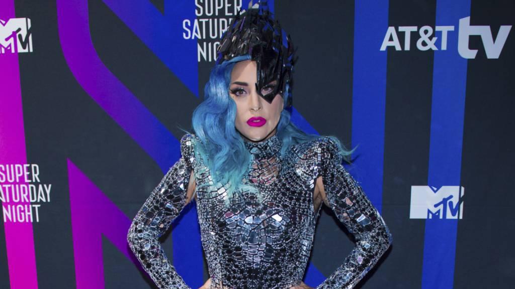 Lady Gaga kann sich ebenfalls Hoffnungen auf eine Auszeichnung an den MTV Video Music Awards machen. (Archivbild)
