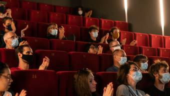 """Masken und freie Sitze: Das internationale Animationsfilmfestival """"Fantoche"""" in Baden AG verzeichnete heuer weniger Besucherinnen und Besucher."""