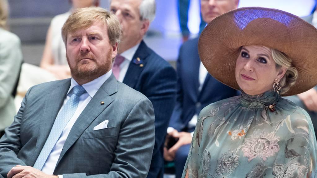 König Willem-Alexander der Niederlande und Königin Maxima besuchen in Berlin.